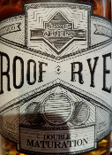 ROOF RYE - WHISKY - WARENGHEIM - 50 CL - BRETAGNE - 43 %