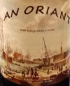 PORT LOUIS - 5% - BIERE BLONDE KARI GOSSE - MORBIHAN- 56 - 75CL- AN ORIANT