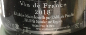 ENERGIE - VIN DE FRANCE - ROUGE - 2016 - 75CL - 12,5%