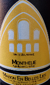 BOURGOGNE  - BLANC - MONTHELIE - 75CL - 2018 - 12,5%