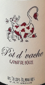 POT D' VACHE - VIN DE FRANCE - ROUGE - 75CL - 13%