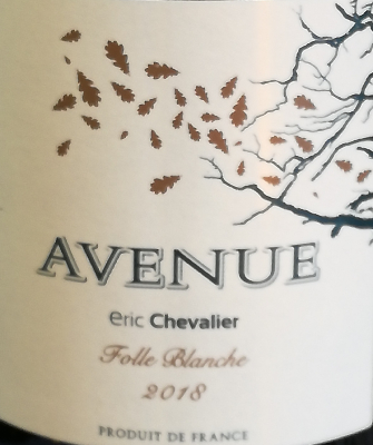 AVENUE - IGP - BLANC - 75CL - 11% - 2015