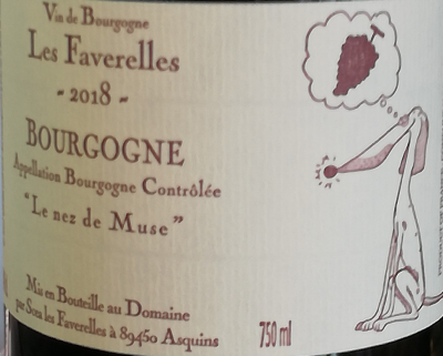 BOURGOGNE - 2018 - 14% -  75CL - ROUGE - LE NEZ DE MUSE